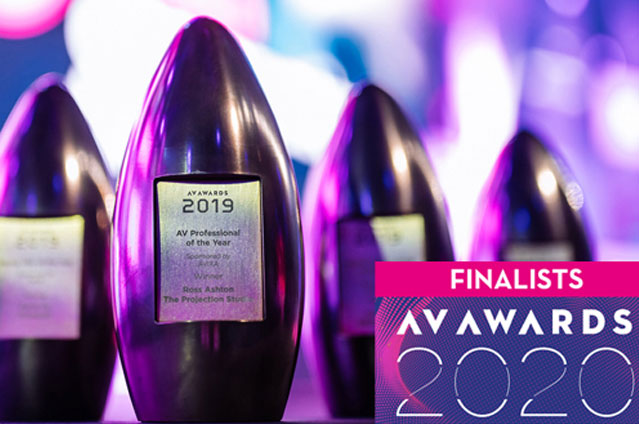 AOTO is excited to have been shortlisted for AV Awards 2020 'Public Sector Project of the Year'